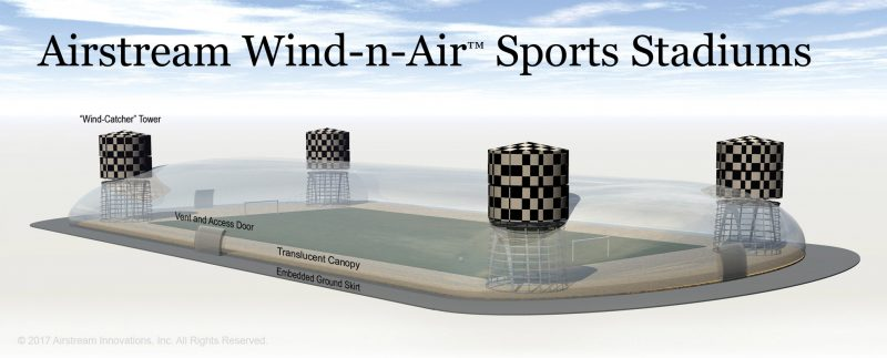 Wind-n-Air™ Sports Stadiums